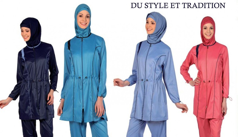 burkini maillot de bain islamique vetislam